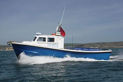 Amarisa Weymouth Deep Sea Charter Fishing Boat