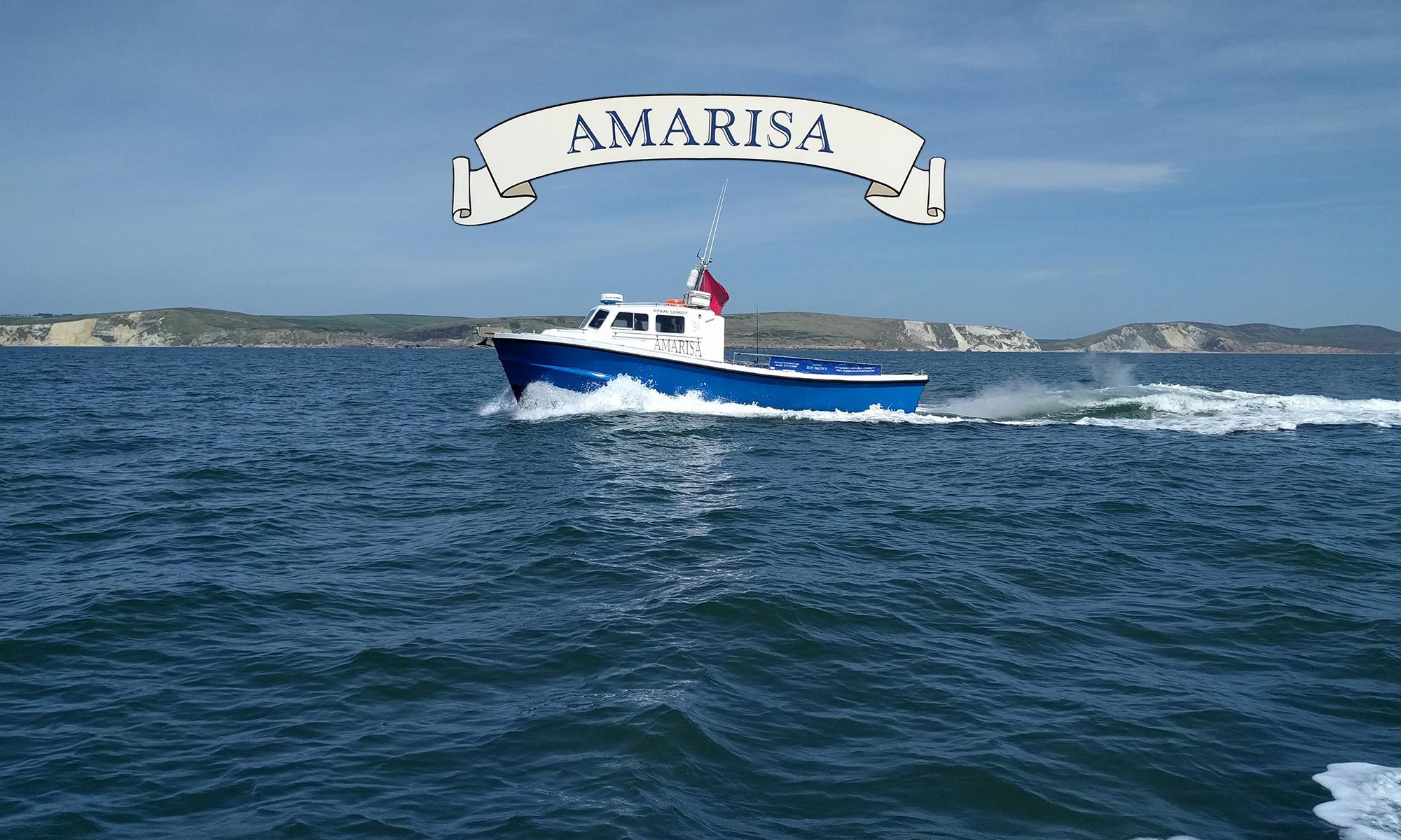 Sea Fishing in Weymouth on The Amarisa